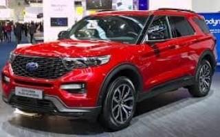 Новый внедорожник Ford: встречайте новый Explorer