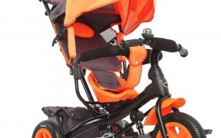 Как выбрать трехколесный детский велосипед